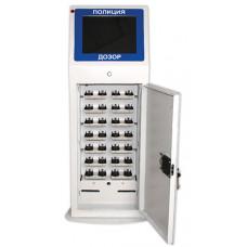 Терминал зарядки архивирования и хранения данных для 28-ми устройств «ДОЗОР 77»